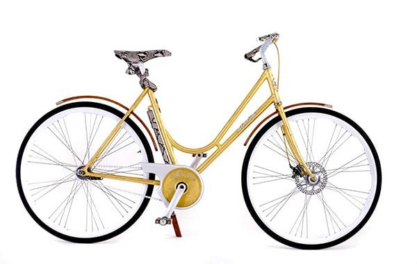 xe đạp đua Montante Luxury Gold Collection