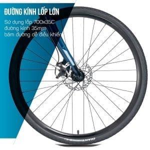 Đường kính bánh xe 35cm