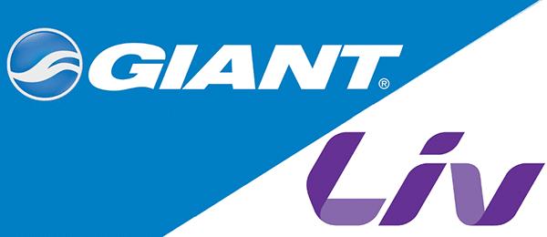 logo nhãn hiệu phụ Giant - LIV