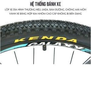Lốp xe JIADA trên Xe đạp galaxy ml200