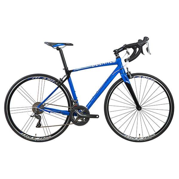 xe đạp đua asama solano factory màu xanh dương