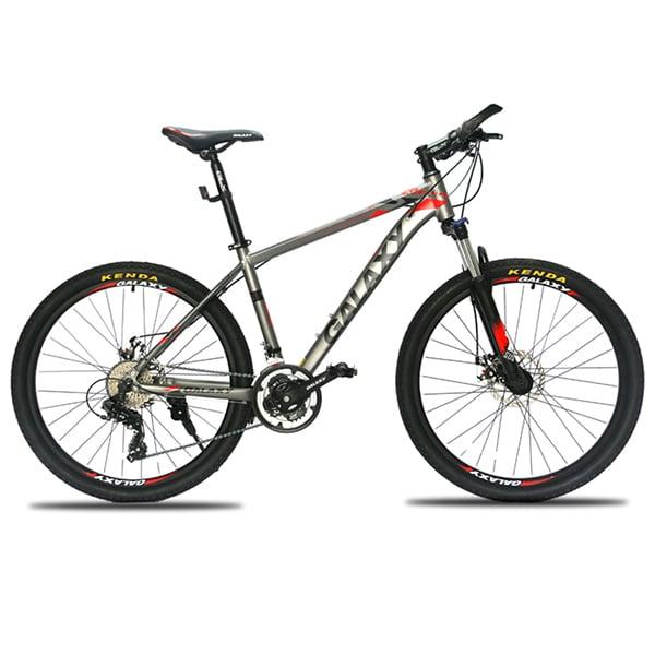 xe đạp galaxy ml200 màu bạc