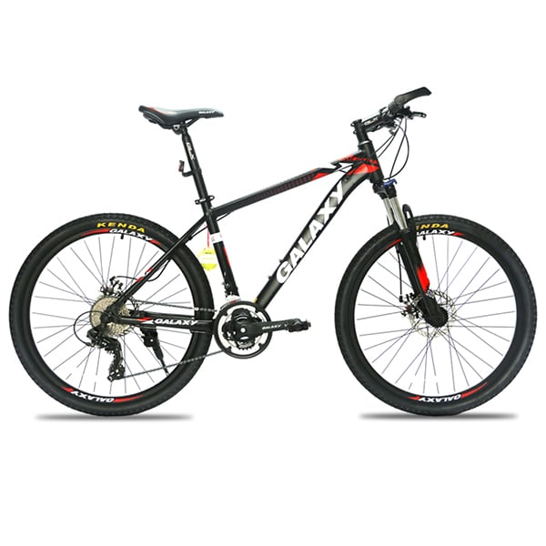 xe đạp galaxy ml200 màu đỏ đen