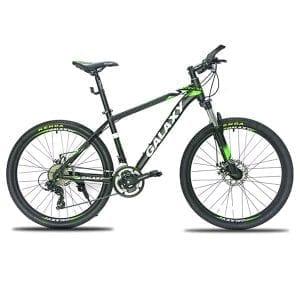 xe đạp galaxy ml200 màu xanh lá đen