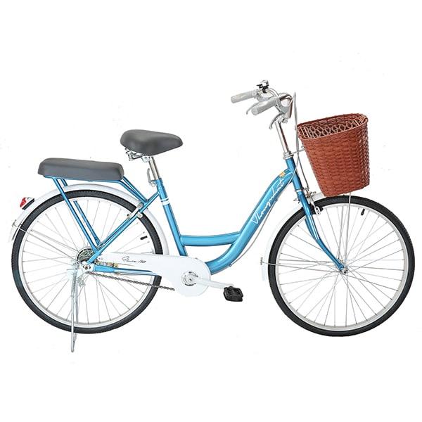 xe đạp thống nhất new 24 mãu xanh dương