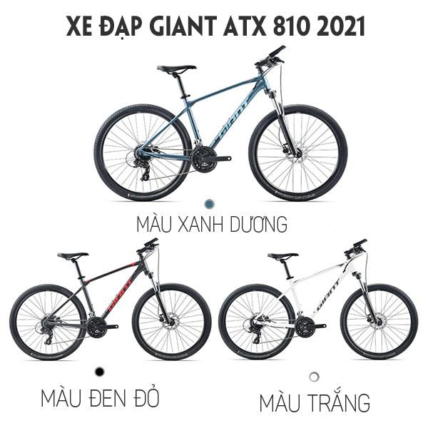 3 màu xe đạp giant atx 810 2021