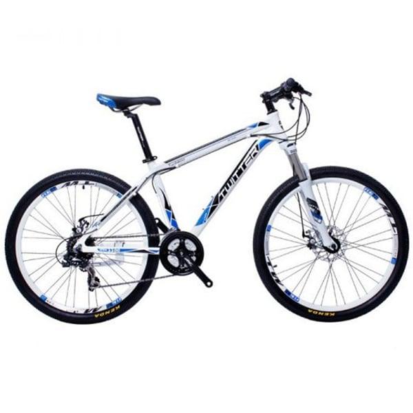 xe đạp twitter 3000 màu trắng xanh