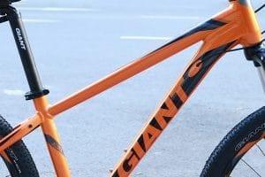 Hệ thống dây điều khiển đi âm sườn xe đạp giant rincon X