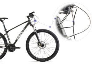 hệ thống dây điều khiển xe đạp giant atx 860