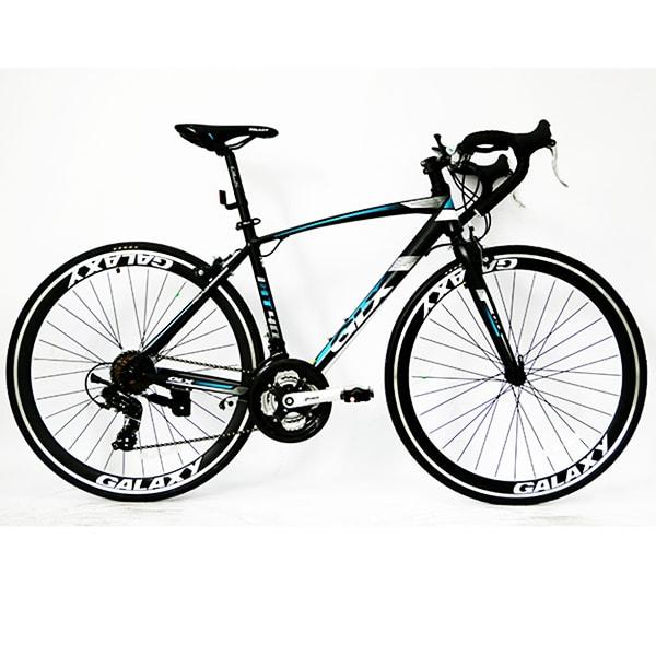 xe đạp galaxy lp400 màu đen xanh