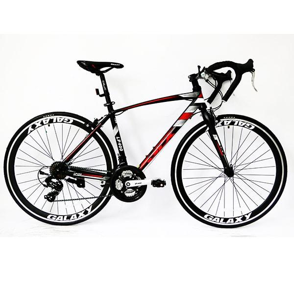xe đạp galaxy lp400 màu đen đỏ
