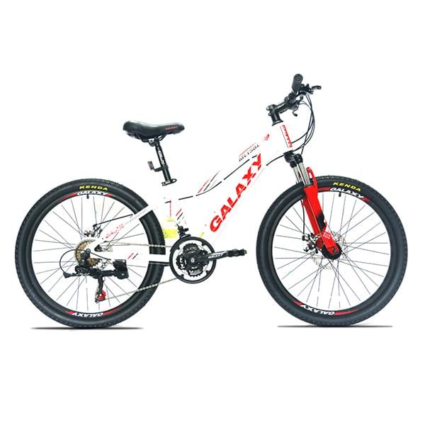 xe đạp galaxy ml150 màu trắng đỏ