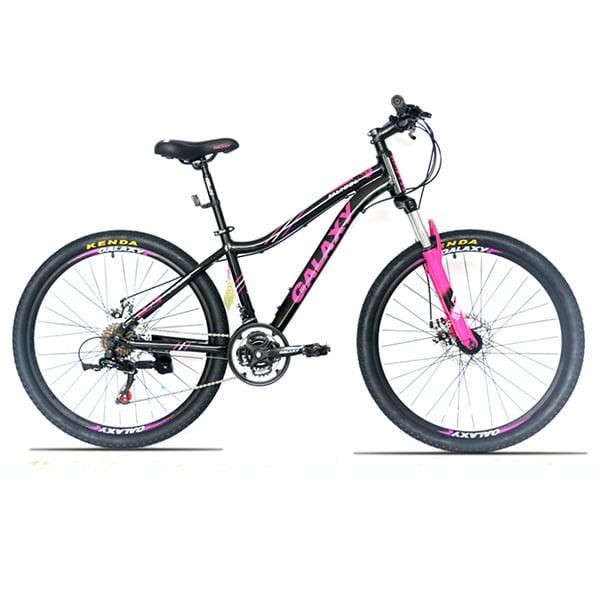 xe đạp galaxy ml150 màu đen hồng
