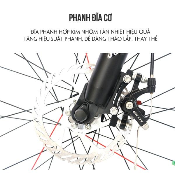 Phanh đĩa cơ xe đạp galaxy ml150