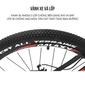 vành và lôp xe đạp galaxy ml150