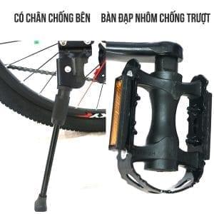 Chân chống và bàn đạp xe đạp galaxy ml150