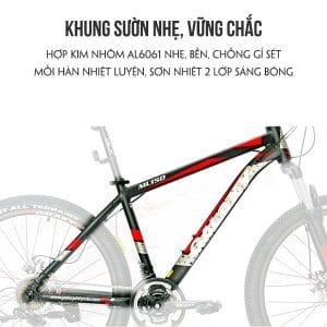 Khung sườn xe đạp galaxy ml150