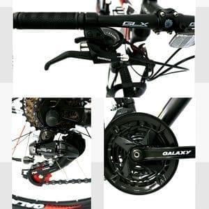 hệ thống truyền động xe đạp galaxy mt16