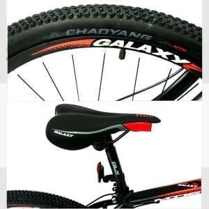 Lốp và yên xe đạp galaxy mt16
