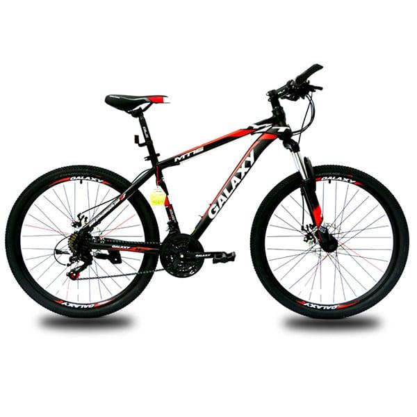 xe đạp galaxy mt16 màu đen đỏ