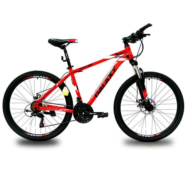 xe đạp galaxy mt16 màu đỏ đen