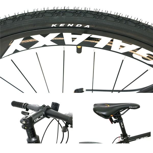 lốp xe, tay lái, yên xe đạp galaxy rl200