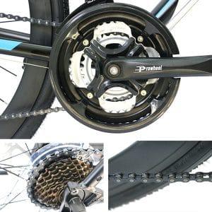 dĩa trước, dĩa sau, xích xe đạp galaxy rl200