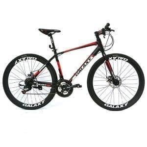 xe đạp galaxy rl200 màu đen đỏ