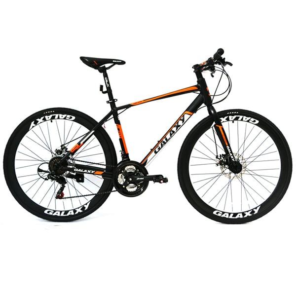 xe đạp galaxy rl200 màu đen cam