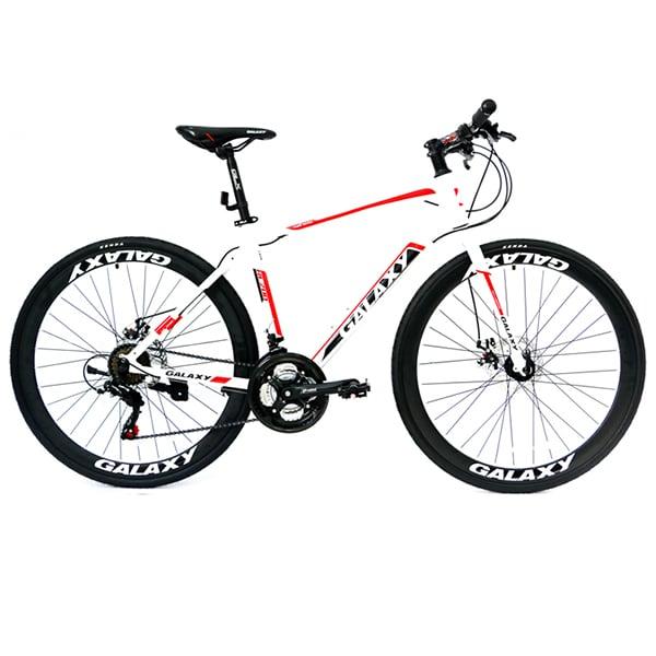xe đạp galaxy rl200 màu trắng đỏ