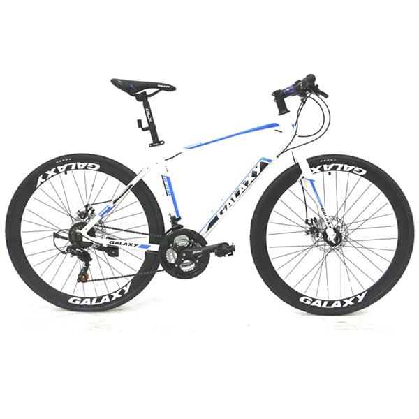 xe đạp galaxy rl200 màu trắng xanh