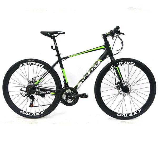 xe đạp galaxy rl200 màu đen xanh lá