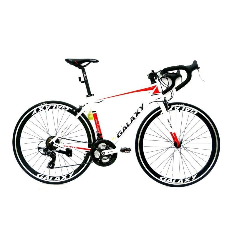 xe đạp galaxy rl420 màu trắng đỏ