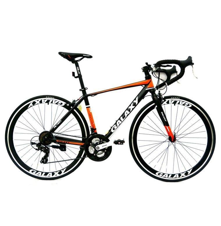 xe đạp galaxy rl420 màu đen đỏ
