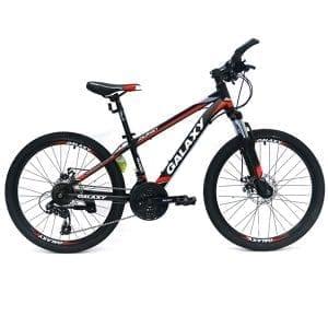 xe đạp galaxy t5 màu đen đỏ