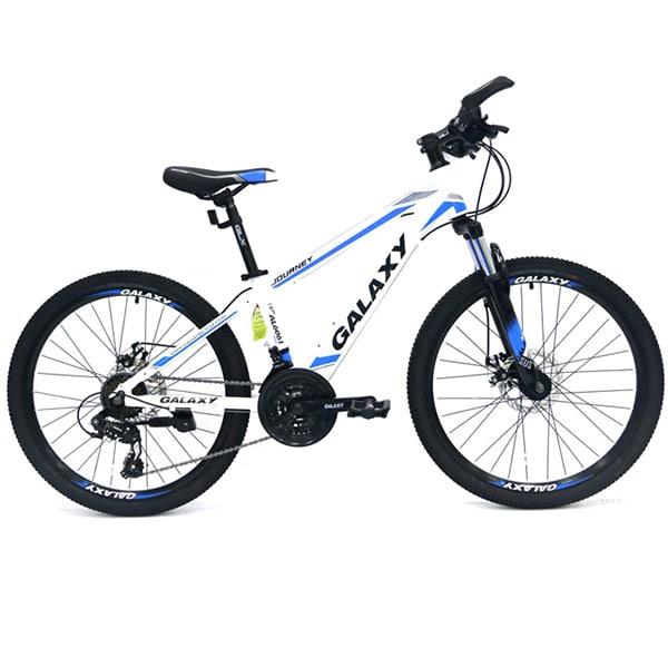 xe đạp galaxy t5 màu trắng xanh