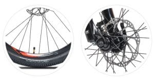 Phanh thủy lực xe đạp giant rincon X 2020