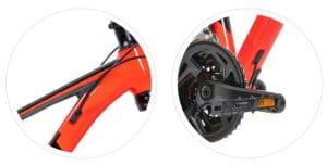 Dây điều khiển âm sườn xe đạp giant rincon X 2020