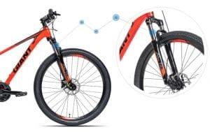 Hệ thống giảm sóc xe đạp giant rincon X 2020