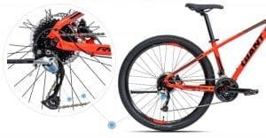 Hệ thống truyền động xe đạp giant rincon X 2020