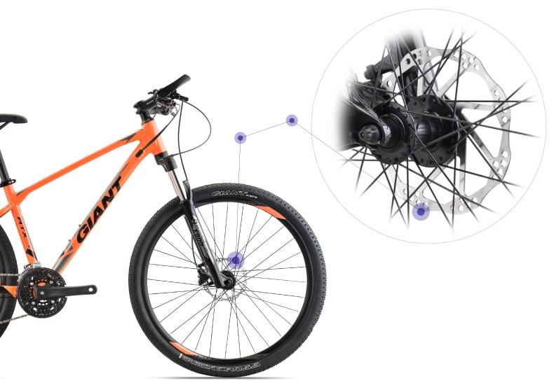 phanh xe đạp giant atx 830