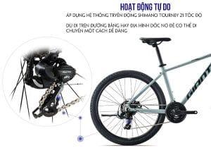 hệ thống truyền động Xe đạp giant atx 720