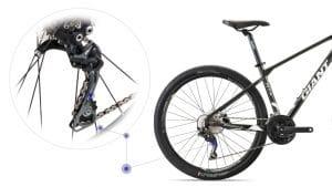 hệ thống truyền động xe đạp giant atx 860