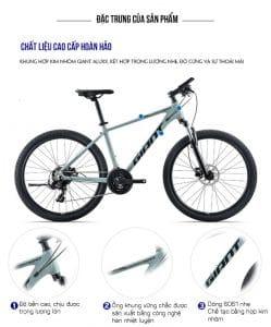 khung sườn Xe đạp giant atx 720