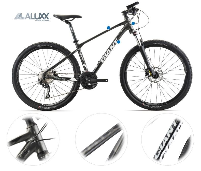 xe đạp địa hình nữ nhẹ dễ điều khiển, mang vác