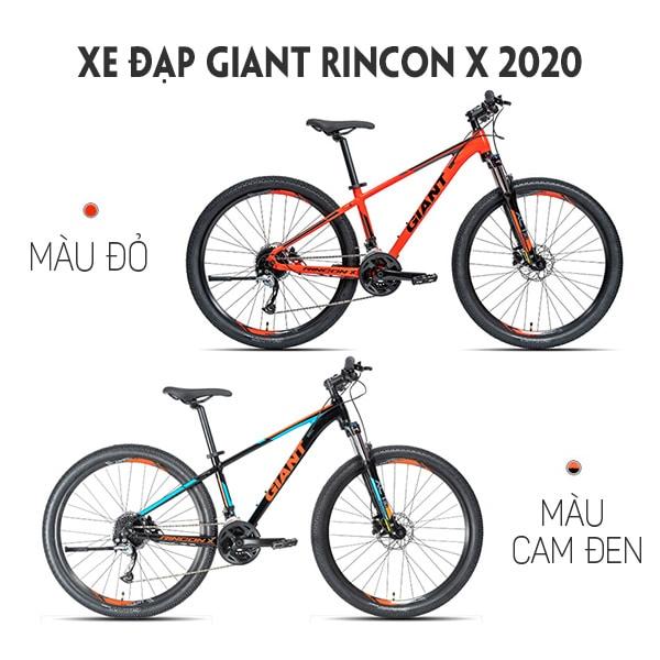 2 màu xe đạp giant rincon X 2020