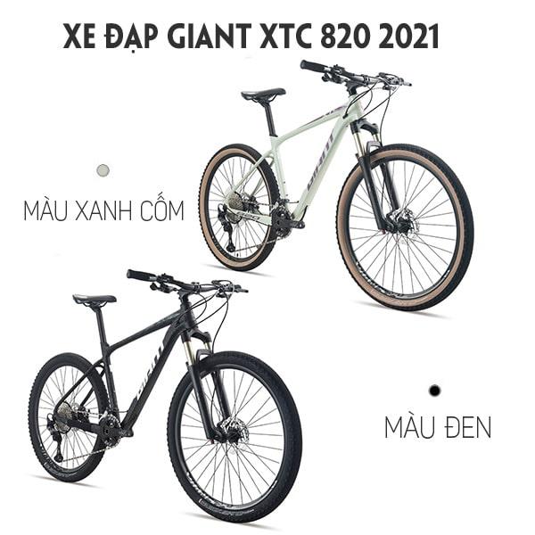 2 màu đẹp xe đạp giant xtc 820 2021