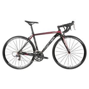 xe đạp twitter 736 màu đen đỏ