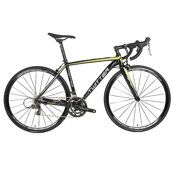 xe đạp twitter 736 màu đen vàng