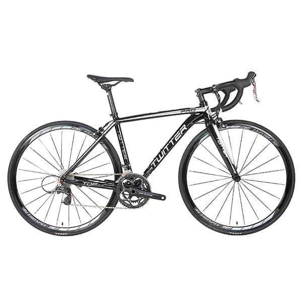 xe đạp twitter 736 màu đen trắng